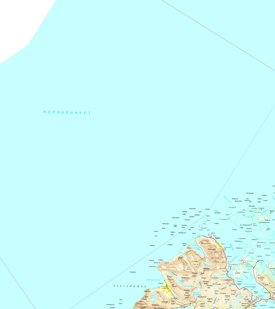 Map Lofoten 1