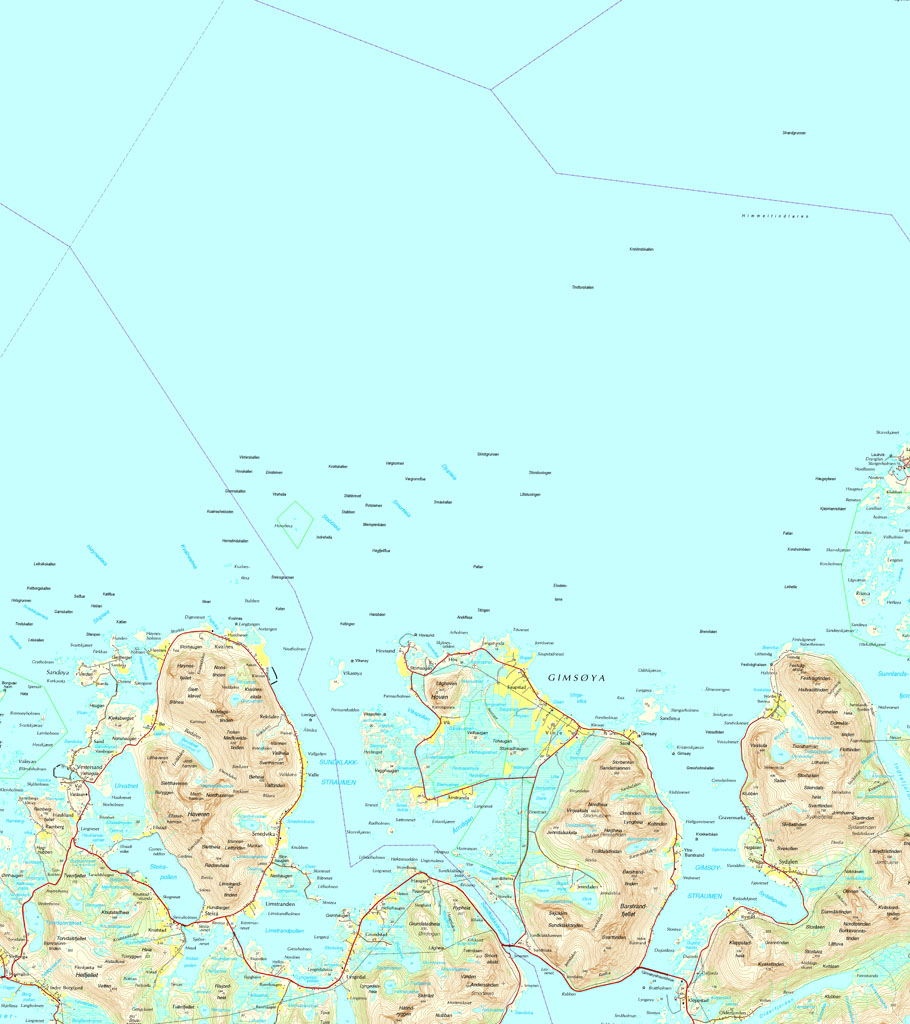 Map Lofoten 2