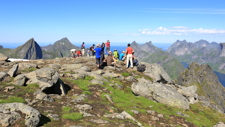 guided trip in the Lofoten Islands with EXPLORANOR.COM